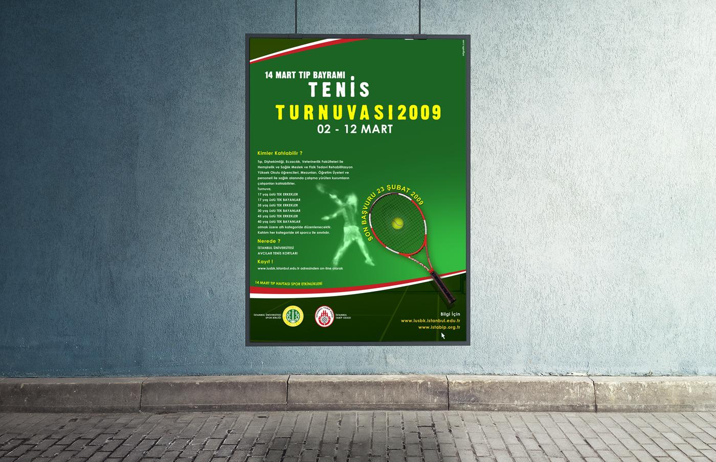 Tenis Turnuvas脹